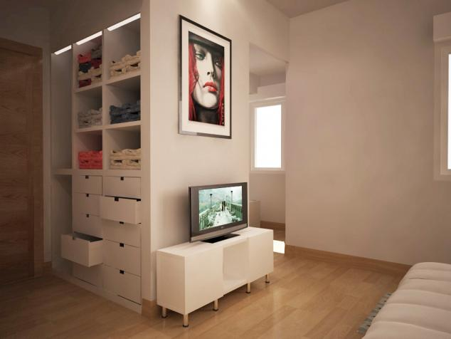 Reformar Baño En Vestidor:Recreación virtual Reforma Dormitorio con Vestidor